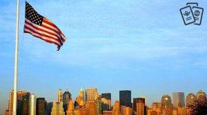 ameria bayragi ve newyork