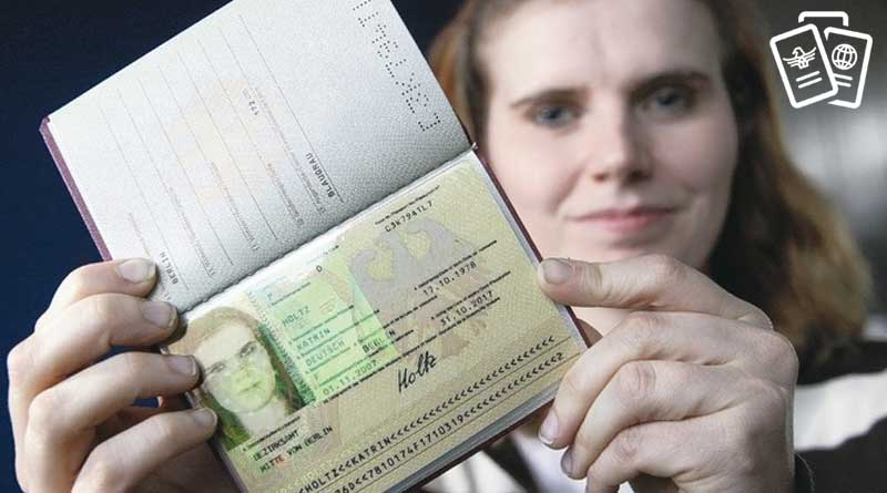 kadin vize gosteriyor