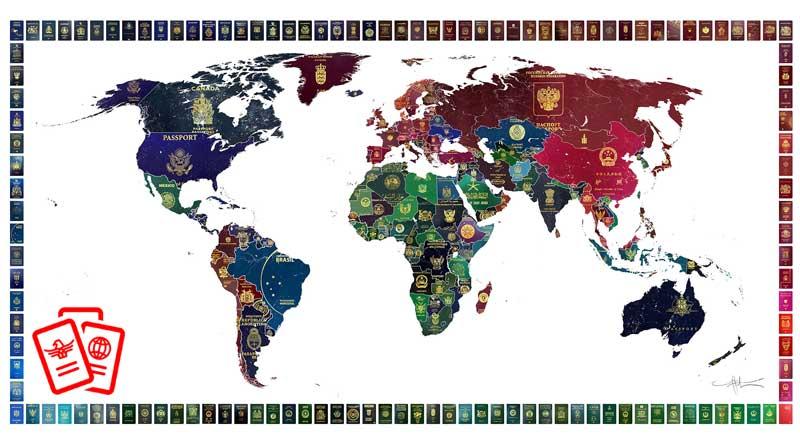 pasaport renkleri