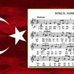 İstiklâl Marşı nota