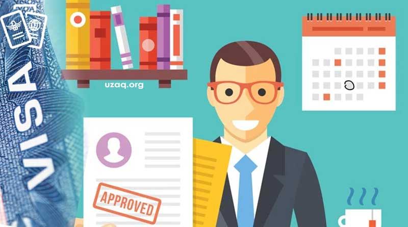 vize başvurusu ve onayı